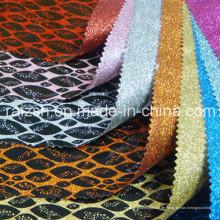 Blinkende Schmucksachen Verpackungsdruck PVC-Gewebe-Funkeln-spezielles Leder