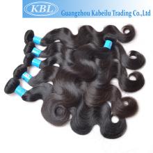 Pieza al por mayor del pelo, pelo barato del efectivo de la entrega, pelo virginal birmano crudo teje los productos para las mujeres negras