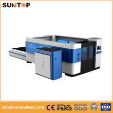 Máquina de corte do laser da fibra de 3000W Ipg / máquina de corte do laser da fibra do poder superior