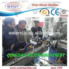 Máquina extrusora dupla de fibra de PVC reforçado mangueira faz