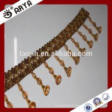 Dekorative Vorhang Perlen Handgefertigte Perle Quaste Fringe Vorhang