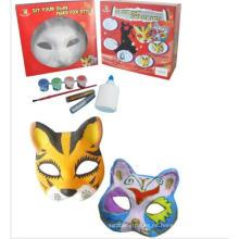 Fox en blanco blanco máscaras al por mayor