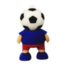 Sport World Cup Football Player Shape Unidad flash USB de 4GB