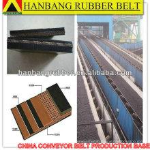 Chevron Oil Resistant conveyor belts EP630