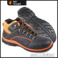 Dual Density PU Outsole Safety Shoe with Genuine Leather (SN5325)