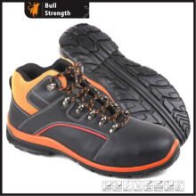 Industrial Leather Safety Shoes with Steel Toe and Steel Midsole (SN5325)