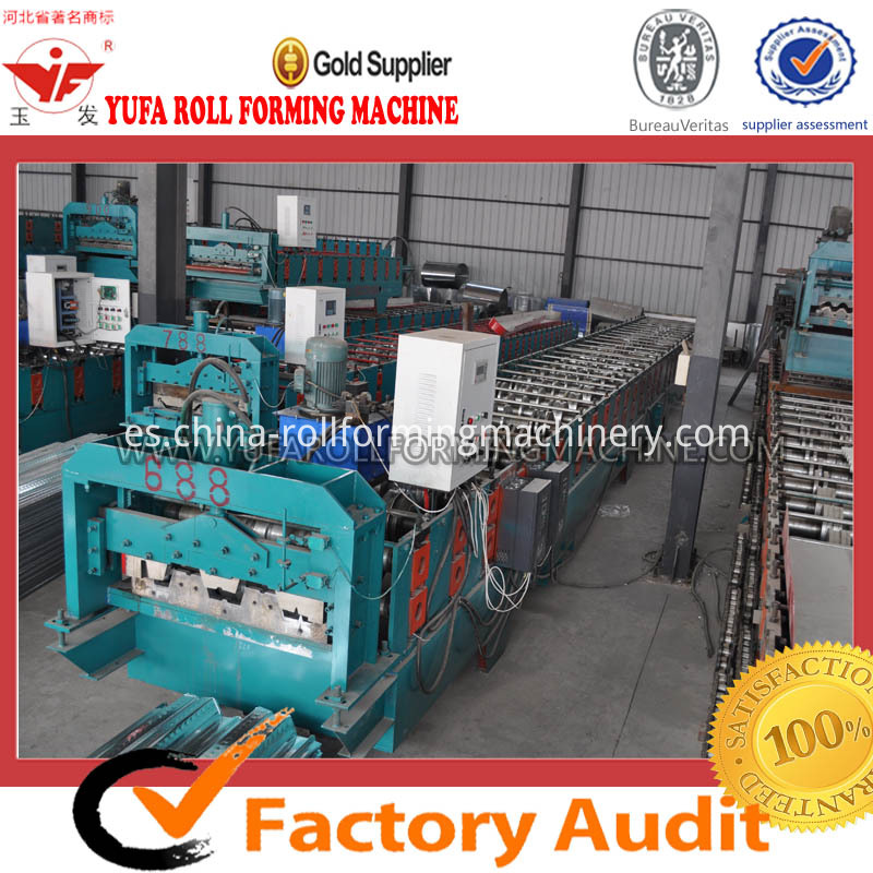 688 floor deck roll forming machine