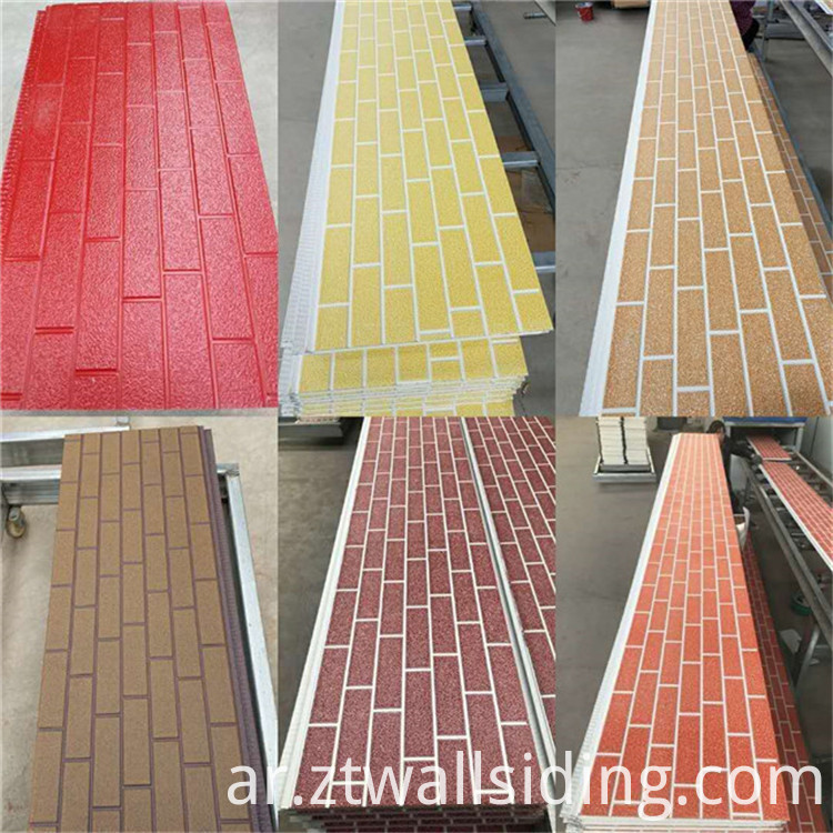 faux brick insulation wall panel
