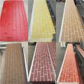 Fire rated PU foam exterior sandwich wall panel