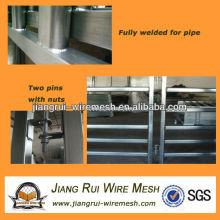 Verriegelte feuerverzinkte Stahlviehplatten (Anping-Fabrik)