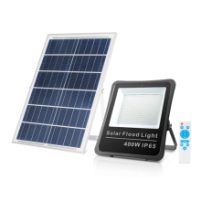 with remote control 200W300W400W solar led flood light