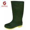 Günstige PVC Matt Surface Working Regen Stiefel