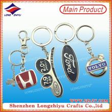 Завод Прямых Продаж Изготовленный На Заказ Металл Keychain Логоса Автомобиля