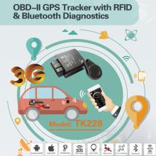 2016 neuer OBD2 / OBD GPS-Auto-Verfolger mit Bluetooth Diagnose, hoher Anti-Tamper (TK228-EZ)
