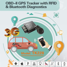 2016 New OBD2/OBD GPS Car Tracker with Bluetooth Diagnostic, High Anti-Tamper (TK228-EZ)