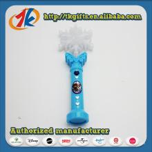 Brinquedo de varinha piscando luz LED colorido plástico