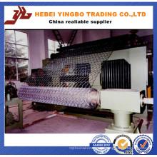 China-niedriger Preis mit hochwertiger sechseckiger Draht-Ineinander greifen-Maschine