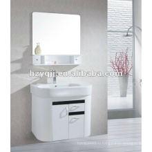 Теплый & любящий и гармоничный семейный блеск белый и черный висящий или настенный шкаф для ванной комнаты тщеславие