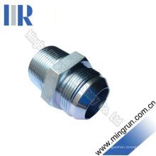 Connecteur de tube d'adaptateur hydraulique mâle mâle / mâle BSPT (1JT-SP)
