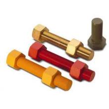Color Plating Carbon Steel Hex Bolt Grade8.8