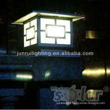 led solar post light