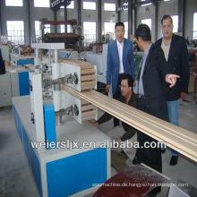 CE-Zertifizierung Greenerwood PVC-WPC Lesco Profil Maschine