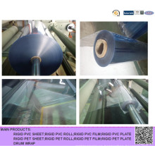 Rollo rígido súper transparente de PVC para la conformación térmica