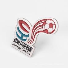 Silver/Zinc Alloy/Brass Butterfly Buckle Enamel Pin, Custom Souvenir Metal 3D Badge