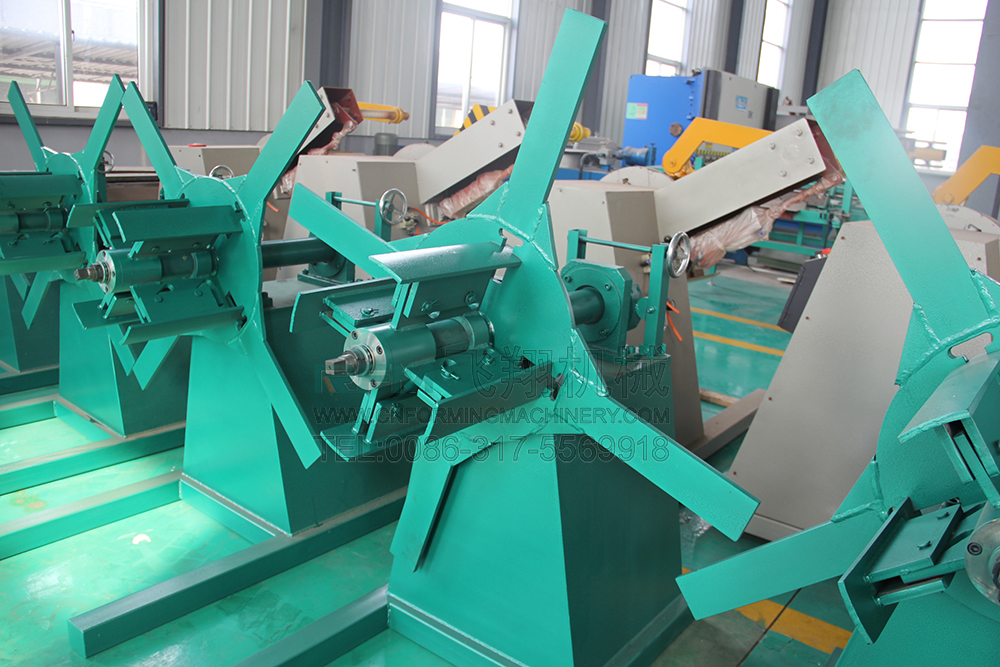 steel c channel machine