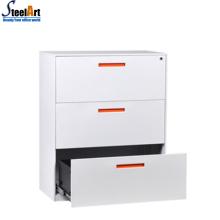 Боковой шкаф стальной шкаф для картотеки офиса с дизайном ящиками