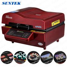Máquina de transferencia de calor del vacío de la sublimación 3D multifuncional St-3042