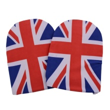 polyester fabric car flag car mirror cover