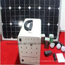 50 Вт домой солнечной энергии системы освещения для крытого или Кемпинг