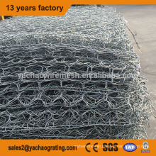 high quality galvanized hexagonal wire mesh gabion box