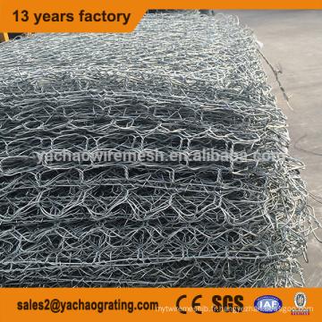 Boîte galvanisée de haute qualité de gabion de treillis métallique galvanisé