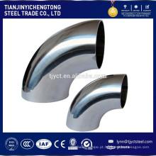 Preços 321 cotovelo de tubo de aço inoxidável