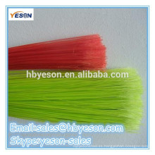 Escobas de plástico de alambre redondo / escoba de plástico de bajo precio