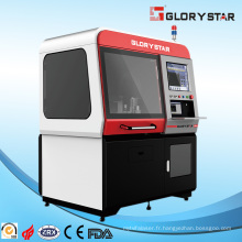 Machine à découper des métaux à fibre laser pour un traitement de pièces de taille miniature