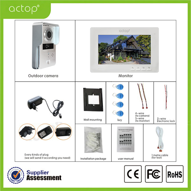Video doorbell intercom accessories