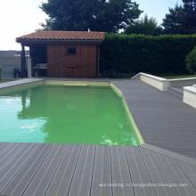3D полы арт цвет дуб мелиорированных Деревянный пол открытый бассейн