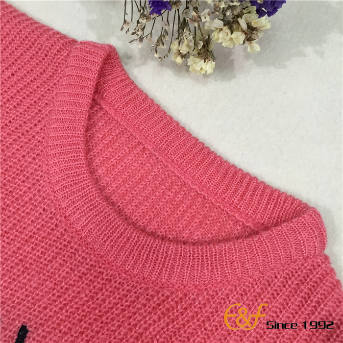 Girl Sweater Crew Neck