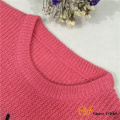 Pull fille Style ordinaire avec broderie