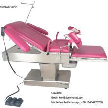 Mesa de silla de ginecología eléctrica popular