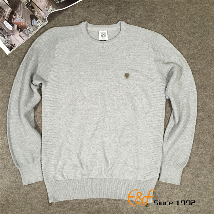 slit sweater for men