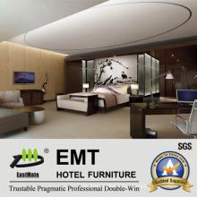 Muebles de lujo del dormitorio de los muebles del hotel (EMT-A1103)