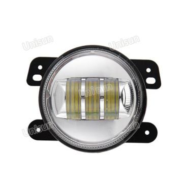 Luz antiniebla LED para camión de 12 V 4 pulgadas 30 W