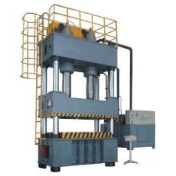 Четырехколонный гидравлический пресс двойного действия для глубокой вытяжки, машина для производства горшков из нержавеющей стали