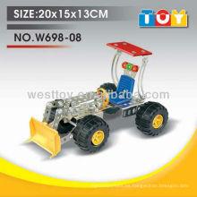 Juguete divertido de la alta calidad del bulldozer de la aleación DIY con todo el informe de la prueba