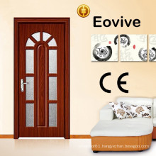 hot sale new design glass wooden door
