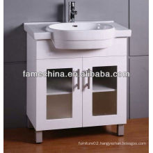 2013 New Arrival Popular Wood Veneer Bathroom Vanity